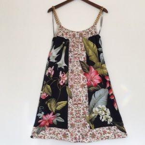 Tommy Bahama Flower Print Silk Dress
